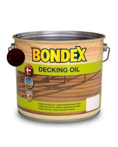 BONDEX DECKING OIL - favédő- és ápolóolaj - paliszander 2,5L