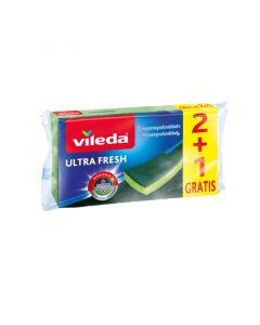 VILEDA ULTRA FRESH - súrolószivacs (3db)