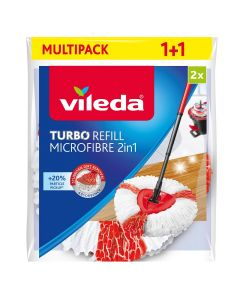 VILEDA TURBO 2in1 MULTIPACK - utántöltő fej pedálos felmosóhoz (2db)