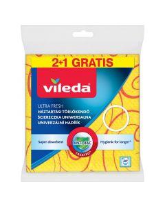 VILEDA ULTRA FRESH - háztartási törlőkendő (3db)