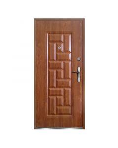 NATA - fém bejárati ajtó (97x205, jobbos, aranytölgy)