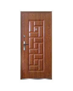 NATA - fém bejárati ajtó (97x205, balos, aranytölgy)