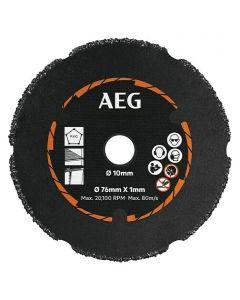 AEG POWERTOOLS AAKMMAC01 - karbid vágókorong (76mm)