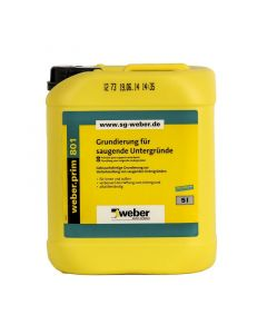 WEBER PRIM 801 - mélyalapozó (5L)