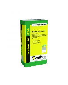 WEBER TEC 934 - vízzáró habarcs (25kg)