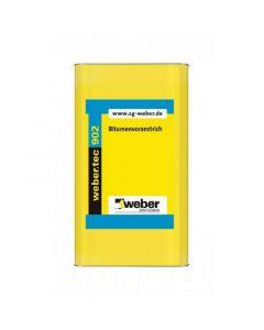 WEBER TEC 902 - bitumenes alapozó (oldószeres, 12L)