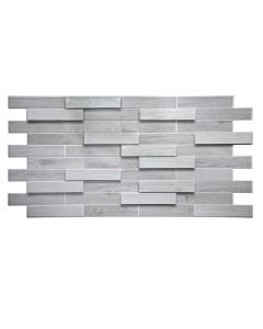 UNIC - falburkoló panel (980x480x3mm, fehérített tölgyfa)