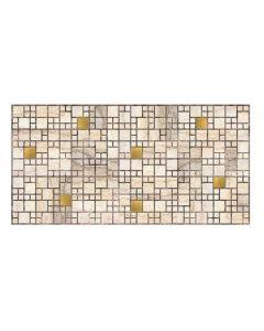 UNIC - falburkoló panel (955x480x3mm, márvány-arany)