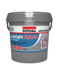 SOUDAL  SOUDATIGHT HYBRID - kenhető folyékony membrán (szürke, 6kg)