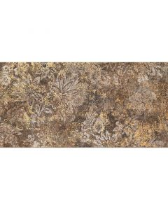 TUBADZIN FIORINO - dekorcsempe (barna, 30,8x60,8cm, 2db)