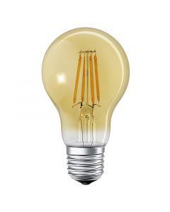 LEDVANCE SMART+ - LED-fényforrás (E27, 6W, körte, borostyán, melegfehér, Bluetooth, okos)