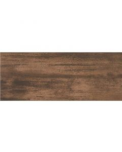 ZALAKERÁMIA PETROL - falicsempe (barna, fényes, 20x50cm, 1,3m2)