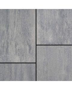 SEMMELROCK CITYTOP GRANDE KOMBI - térkő (80x120x6cm, grafit-ezüst)