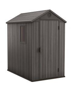 KETER DAERWIN 4X6 - műanyag kerti ház (125,8x184,5x205cm)