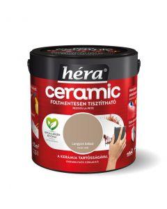 HÉRA CERAMIC - beltéri falfesték - langyos kakaó 2,5L